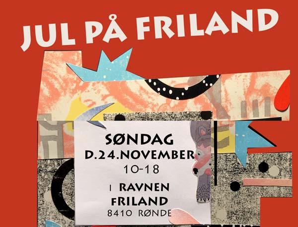 Jul på Friland (marked, workshops og rundvisning)
